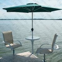boat dock table and chairs 1000 ideas about table umbrella on pinterest patio