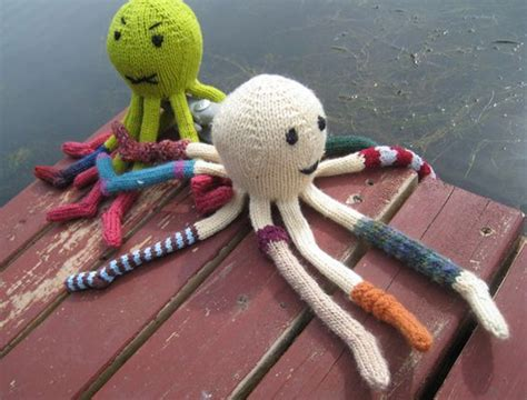 knitted octopus octopus patterns and free knitting on