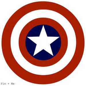 Captain America Shield Cake Template by Captain America Shield Print 8x10 Or 8x8
