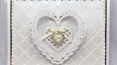Wedding Anniversary Card Diy by How To Make A Pearl Wedding Anniversary Card Diy Crafts