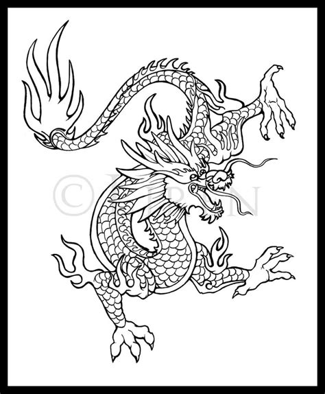 tattoo design chinese dragon by liren on deviantart