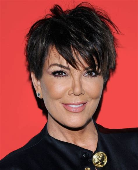 Kim Kardashians Mums Hair Styles | kim kardashian nearly broke the internet again with her