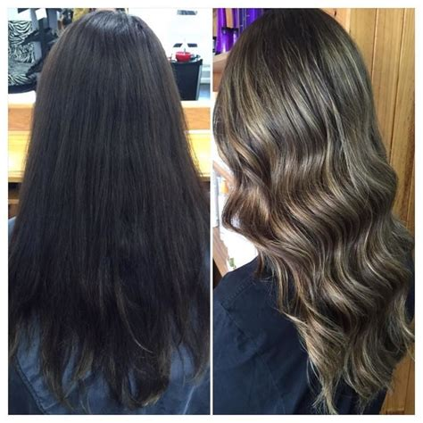wash hair after balayage highlights 17 best ideas about balayage before and after on pinterest