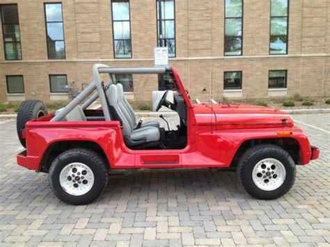 sell used 1991 jeep wrangler renegade 59k rust free 5spd 4 0l hardtop 4x4 rare clean in boulder