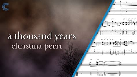 tutorial keyboard a thousand years piano a thousand years christina perri sheet music