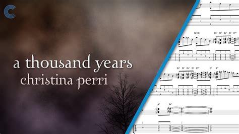 tutorial keyboard lagu a thousand years trumpet a thousand years christina perri sheet music
