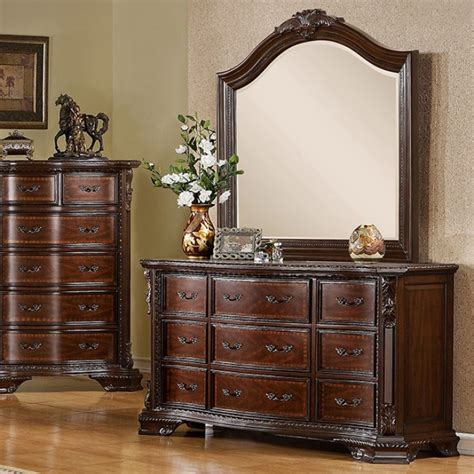 bellefonte  piece bedroom set  furniture  america