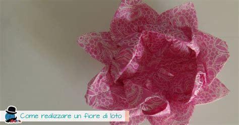 fiori di loto di carta come realizzare un fiore di loto origami kreattivablog