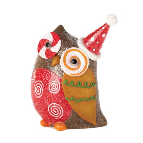 wholesale sparkly holiday owl decor buy wholesale