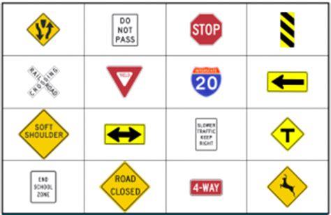 printable road sign bingo 6 best images of highway sign bingo printable road trip