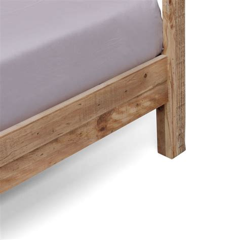 bed frames portland or portland king size rustic recycled timber bed frame buy