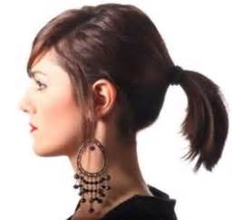 ponytail haircut where to position ponytail ponytail styles for short hair short hairstyles 2016