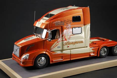 volvo semi models 585 best modelbouw images on pinterest