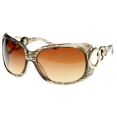 Designer Sunglasses by Designer Inspired Womens Fashion Glam Oversized Sunglasses