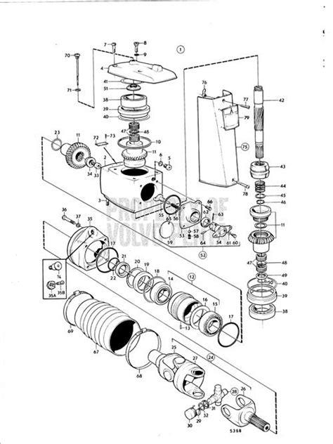 volvo  outdrive parts diagram automotive parts diagram images