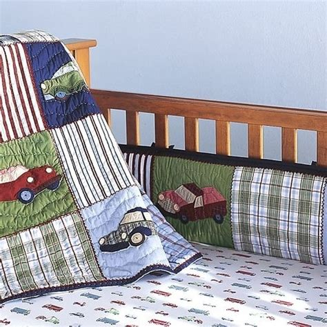 Classic Crib Bedding Pottery Barn Cars And Trucks Crib Bedding Set Boy New Cars Quilt And Trucks