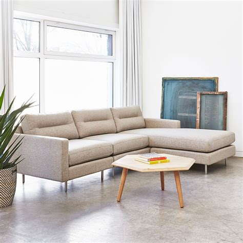 gus modern sectional gus logan bi sectional the century house madison wi