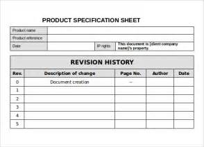simple software specification template specification sheet sle 11 documents in pdf