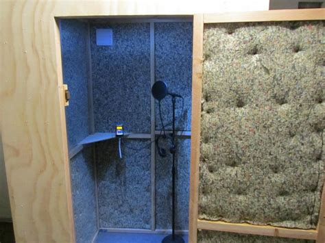 image gallery homemade recording booth