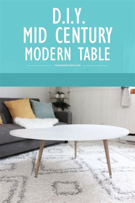 mid century modern coffee table diy diy mid century modern coffee table 50 forest bloglovin