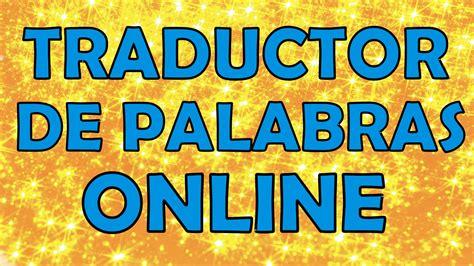 pattern making traduccion en español traductor online gratis traducir del ingles al espa 241 ol