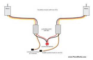 motor_2esc_connection brushless motor wiring diagram on electrical wiring help