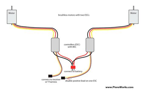 wiring diagrams wattflyer rc electric flight forums