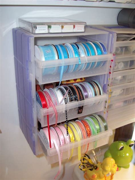 Ribbon Shelf Organizer by Diy Ribbon Organizers You Can Make Yourself Plus One