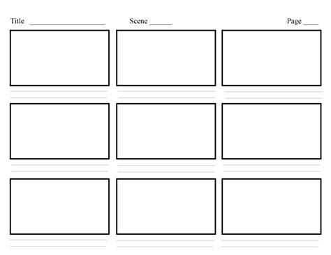 Storyboarding In Ux Design Ux Planet Ux Storyboard Template