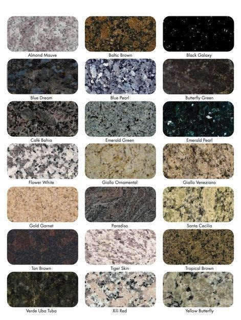 Granite Kitchen Countertop Colors by 25 Best Ideas About Granite Countertops On