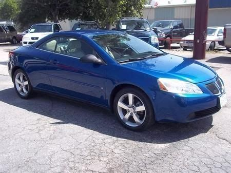 2006 Pontiac G6 Convertible Buy Used 2006 Pontiac G6 Gt Convertible 2 Door 3 5l In
