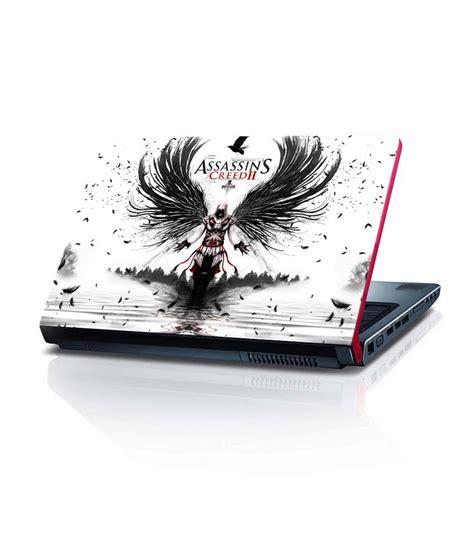 wallpaper for laptop skin shopkeeda assassins creed wallpaper 15 6 inches laptop