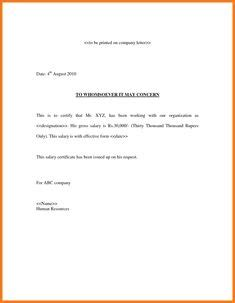 sle salary review letter template a letter of appointment is the confirmation about a in