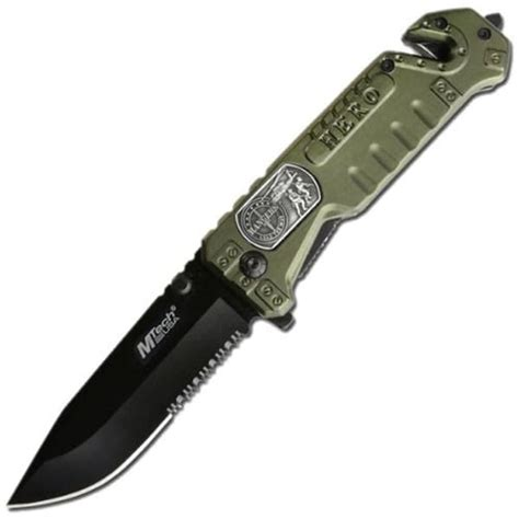 folding knives with glass breaker mtech usa ranger tactical folding knife with glass breaker
