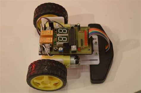 membuat robot line follower murah robot line follower mikrokontroler 2015 6 sensor display