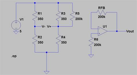 resistor drift tolerance temperature strain wheatstone bridge drift electrical engineering stack exchange