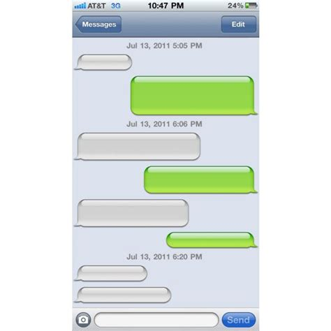 text message templates for android iphone clip art or template liked on polyvore featuring