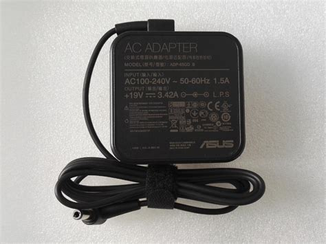 Charger Adaptor Asus 19v 3 42a Original asus 65w new original 19v 3 42a ac adapter charger power supply adp 65gd b ebay