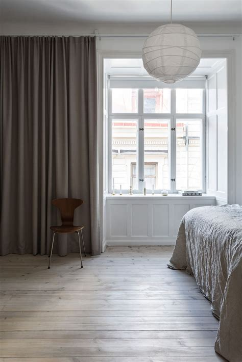 curtains to window sill those window sills via coco lapine design bedroom
