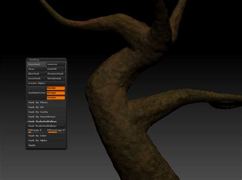zbrush layers tutorial how to make a tree puppet master