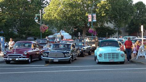 Port Cars by Car Cruise In Port Coquitlam Bc Canada 4k 08 20 2016