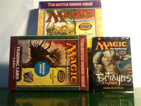 magic the gathering starter decks magic the gathering sealed 2 players starter decks