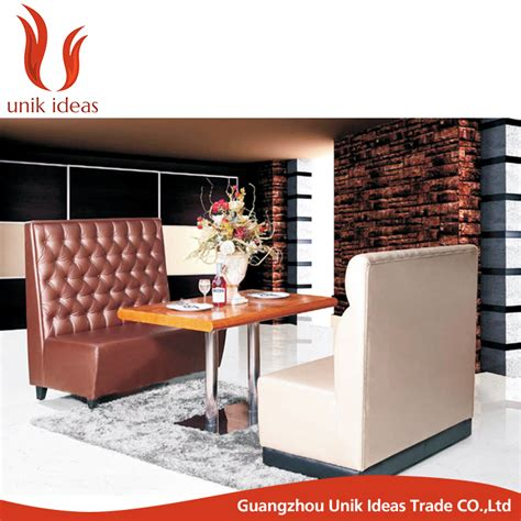 sofa bench for restaurant modern cafeteria fast food seating restaurant sofa bench