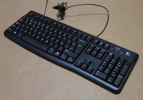 Keyboard Usb Logitech K120 logitech k120 business keyboard usb 920 002508 820 006546 wired qwerty