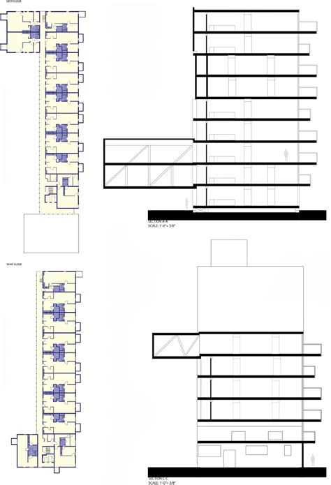 House Plans With Lofts Comprehensive Design 301 Student Housing Wozoco