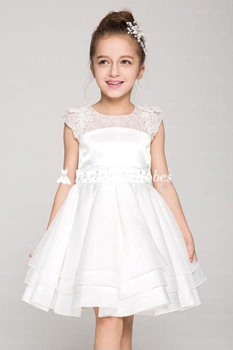 Robe Dentelle Fille 2 Ans - robe de soir 233 e fillette pour mariage en satin et organza