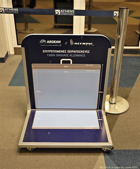 cabin baggage allowance aegean olympic air cabin baggage allowance athens