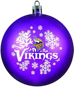 purple shatterproof minnesota vikings ornament by topperscot
