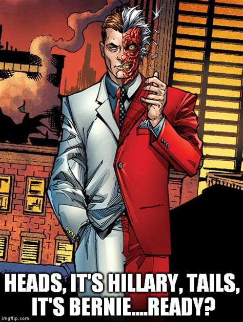 Two Face Meme - image tagged in two face batman imgflip