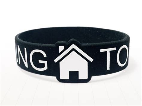 custom large rubber st die cut customize at wristband bros